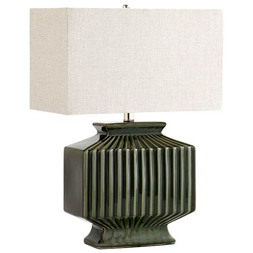 Hamilton Green One-Light Table Lamp