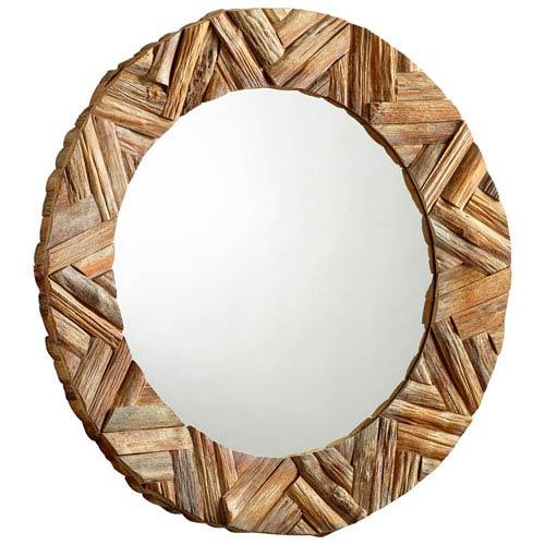 Haverford Pecan Mirror