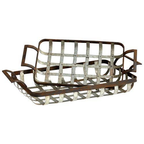 Rustic Ash Waffle Trays