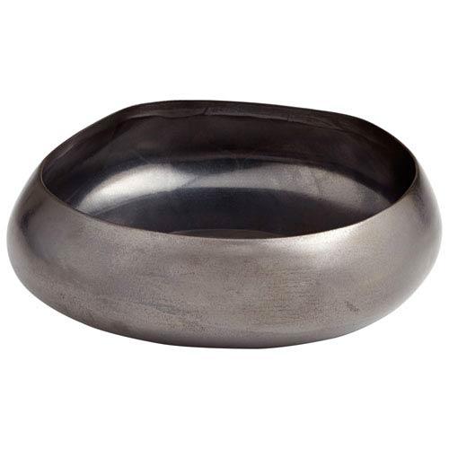 Vesuvius Black Metal Small Bowl