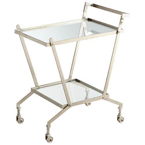 Carrello Nickel Bar Cart