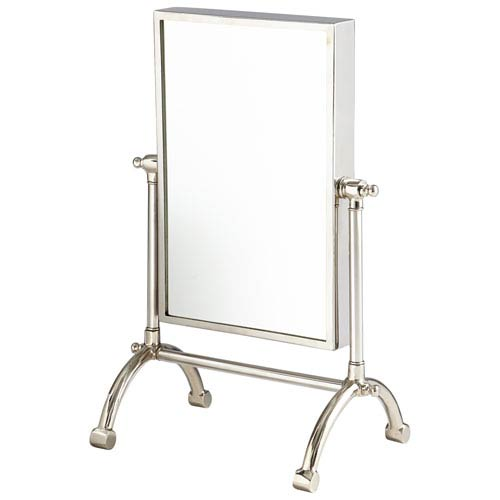 Cassius Stainless Steel Small Mirror
