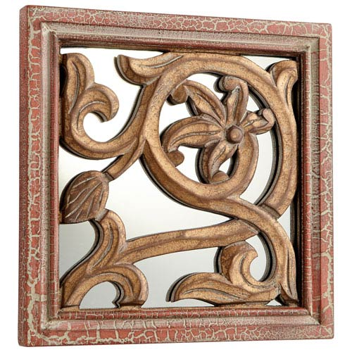 Vinea Antique Cherry Mirror