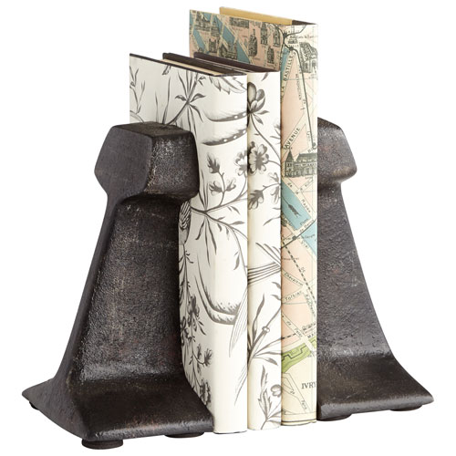 Smithy Zinc Bookends