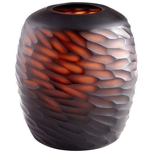 Comet Amber Medium Vase