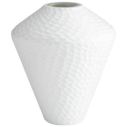 White Buttercream Small Vase