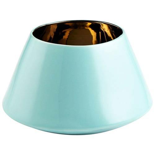 Cyan Design Cleo Aqua Small Vase