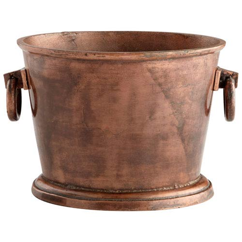Cyan Design Old Vintage Copper Cauldron Container