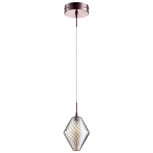 Beckett Satin Copper One-Light Pendant