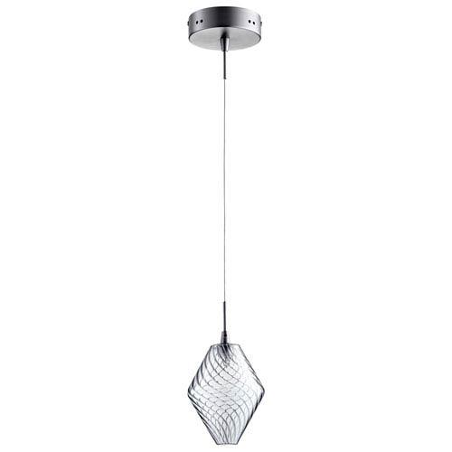 Cyan Design Beckett Satin Nickel One-Light Pendant