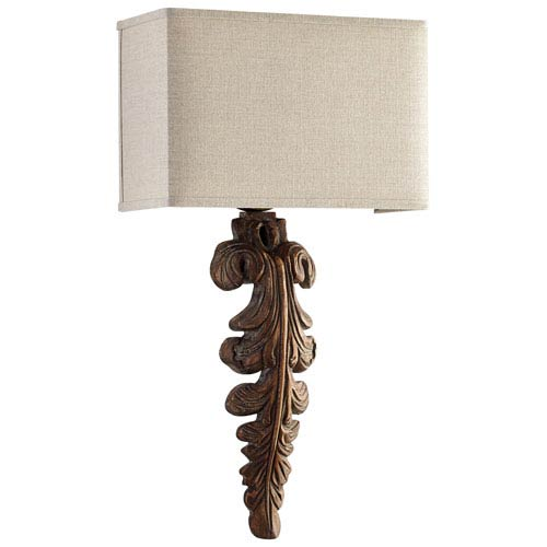 Soren Limed Gracewood One-Light Wall Sconce