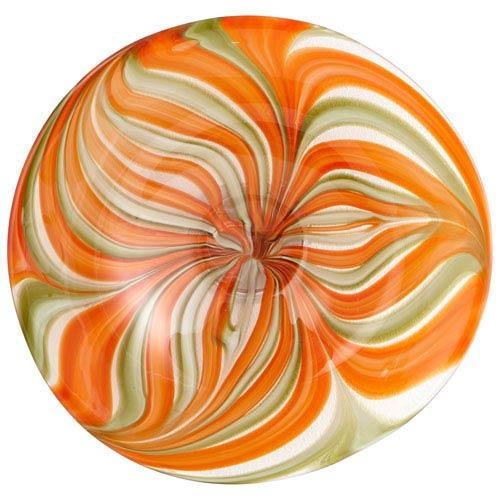 Chika Orange Small Plate