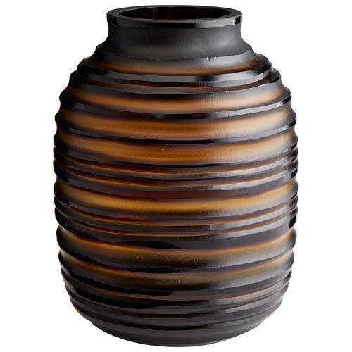 Matteo Amber Vase