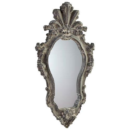 Abella Whitewash Mirror