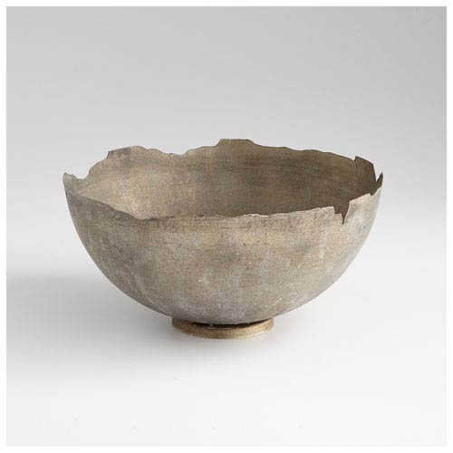 Pompeii Whitewashed Bowl