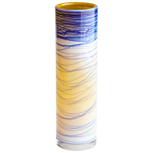 Large Electric Wave Vase