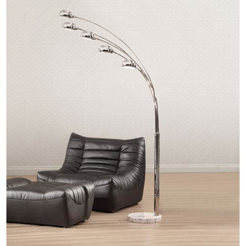 Cosmic Floor Lamp Chrome