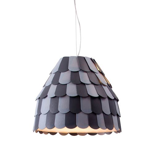 Zuo Modern Contemporary Mesocyclone Gray One Light Pendant