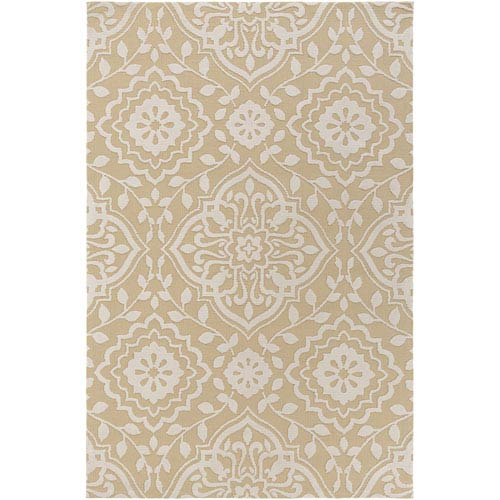 Artistic Weavers Annette Ruby Straw and Ivory Rectangular: 2 Ft. x 3 Ft. Rug