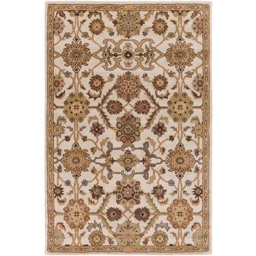 Artistic Weavers Middleton Victoria Tan and Gray Rectangular: 2 Ft. x 3 Ft. Rug