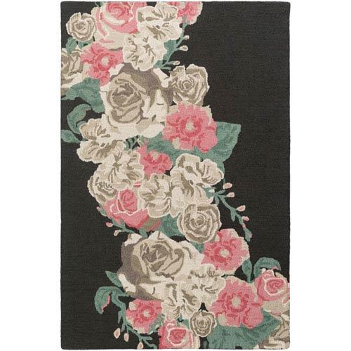 Artistic Weavers Botany Emilia Multicolor Pink Rectangular: 4 Ft. x 6 Ft. Rug