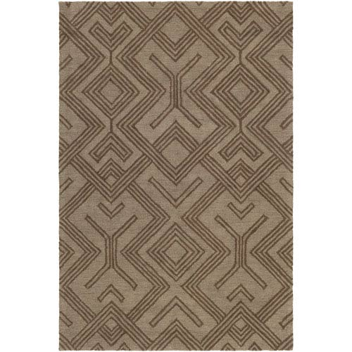 Artistic Weavers Congo Hill Chocolate and Brown Rectangular: 2 Ft. x 3 Ft. Rug