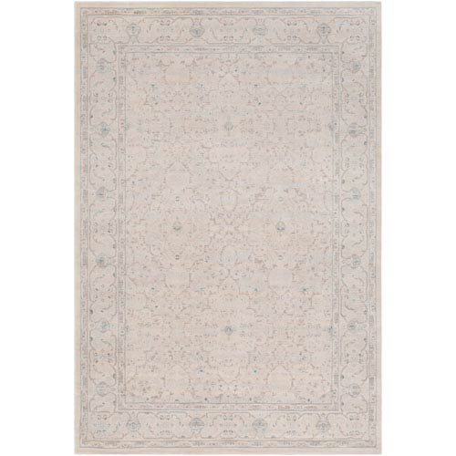 Artistic Weavers Ephesus Orchard Light Blue and Taupe Rectangular: 2 Ft. x 3 Ft. Rug