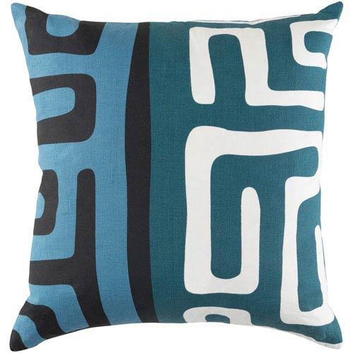 Artistic Weavers Ethiopia Morocco 18-Inch Multicolor Pillow Cover
