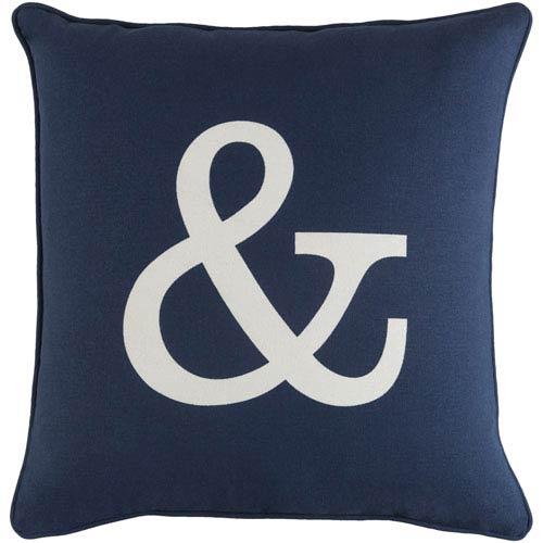 Artistic Weavers Glyph Ampersand 18-Inch Pillow Cover