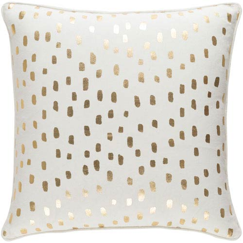 Glyph Dalmatian Dot 18-Inch Pillow Cover and Poly Insert