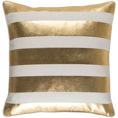 Glyph Stripe 18-Inch Pillow Cover and Down Insert