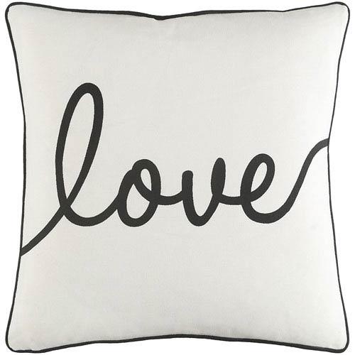 Artistic Weavers Glyph Romantic Love 18-Inch Pillow Cover