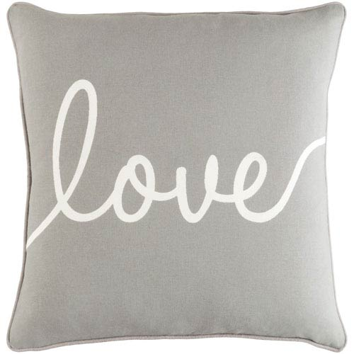 Artistic Weavers Glyph Romantic Love 18-Inch Pillow Cover and Poly Insert