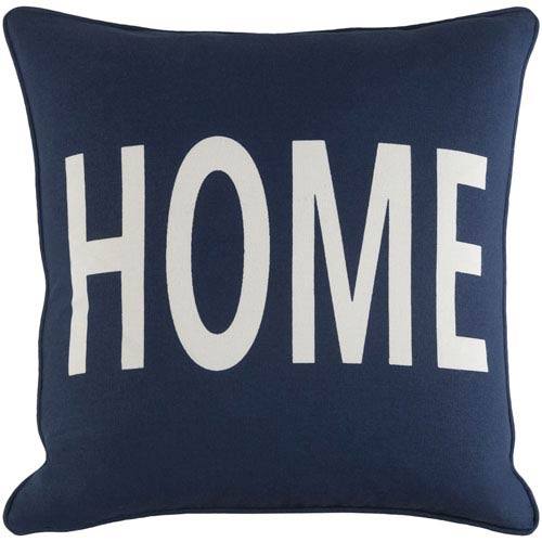 Glyph Home 18-Inch Pillow Cover and Down Insert