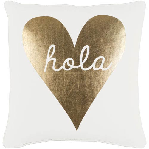 Artistic Weavers Glyph Hola 18-Inch Pillow Cover and Poly Insert