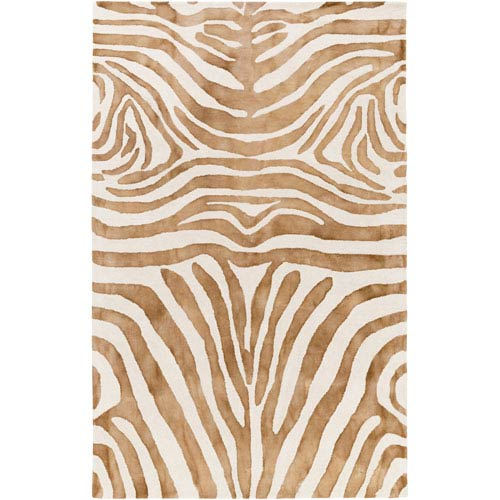 Geology Parker Brown Rectangular: 4 Ft. x 6 Ft. Rug