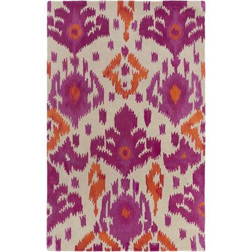 Artistic Weavers Geology Skylar Pink and Orange Rectangular: 4 Ft. x 6 Ft. Rug