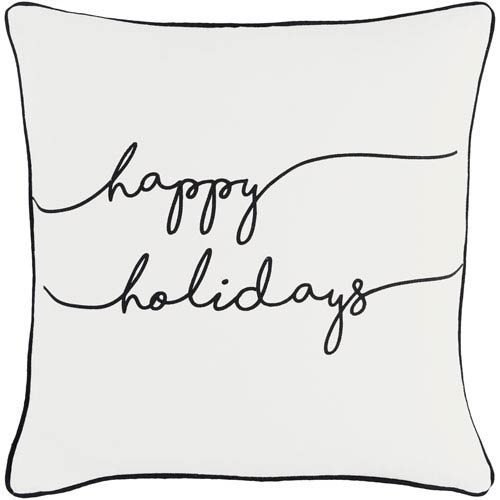 Artistic Weavers Holiday Joy 18-Inch Pillow Cover and Poly Insert