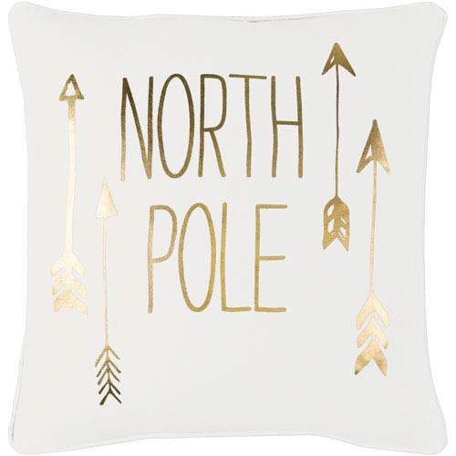 Artistic Weavers Holiday North Pole 18-Inch Pillow Cover
