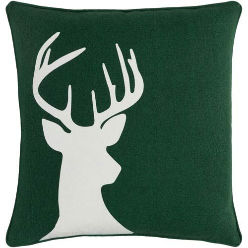 Artistic Weavers Holiday Deer 18-Inch Pillow Cover