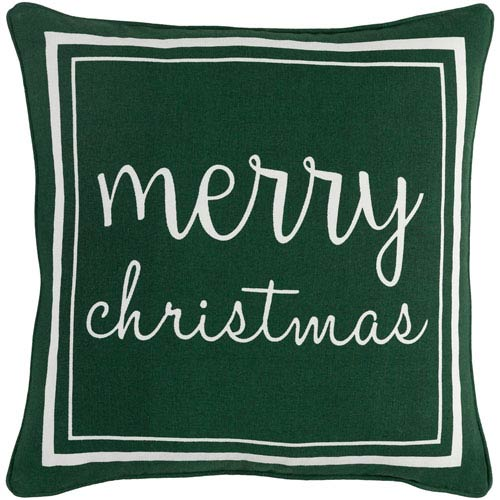 Artistic Weavers Holiday Merry 18-Inch Pillow Cover and Poly Insert
