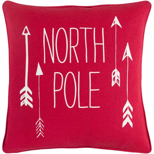 Artistic Weavers North Pole 18-Inch Pillow Cover and Down Insert
