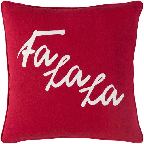 Artistic Weavers Holiday January 18-Inch Pillow Cover and Down Insert