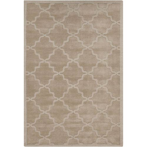 Central Park Abbey Tan Rectangular: 3 Ft x 5 Ft Rug