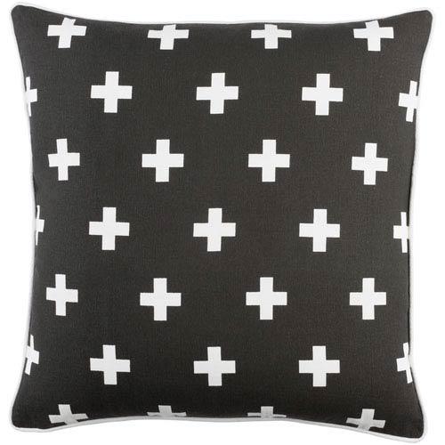 Artistic Weavers Inga Cross 18-Inch Pillow Cover
