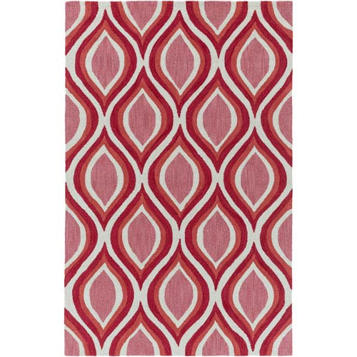 Holden Lucy Coral Rectangular: 5 Ft x 7 Ft 6 In Rug