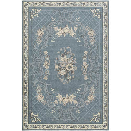 Artistic Weavers Madeline Gianna Blue Rectangular: 2 Ft. x 3 Ft. Rug