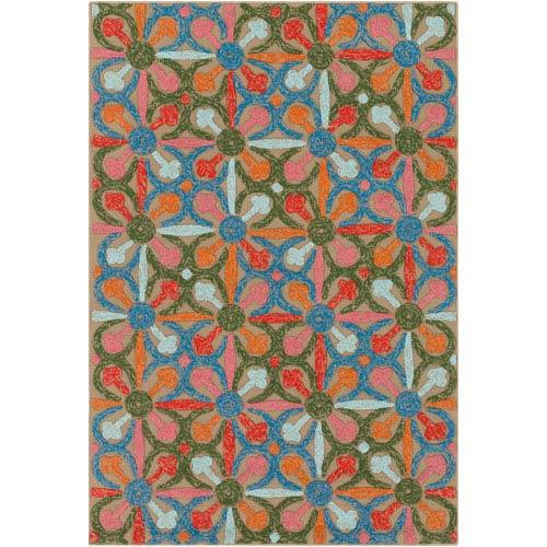 Artistic Weavers Mayan Nima Multicolor Rectangular: 2 Ft. x 3 Ft. Rug