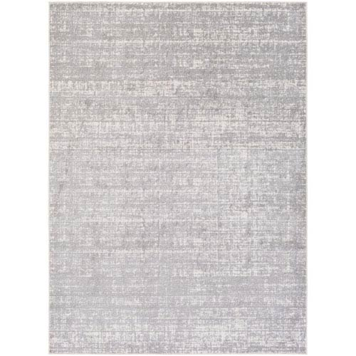 Potter Jenny Gray and Ivory Rectangular: 5 Ft. 3-Inch x 7 Ft. 3-Inch Rug