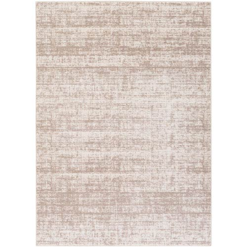 Potter Jenny Taupe and Ivory Rectangular: 7 Ft. 11-Inch x 10 Ft. 3-Inch Rug